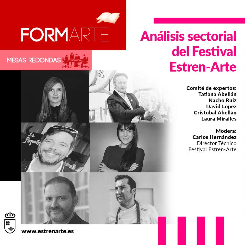 Espectáculo Análisis sectorial del Festival Estren-Arte