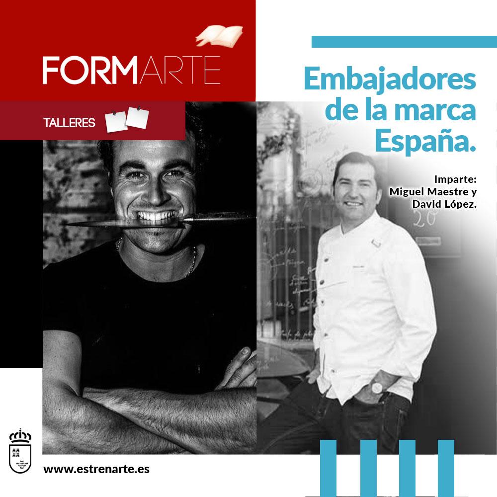Espectáculo Embajadores de la marca España