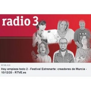 Prensa Hoy empieza todo 2 - Festival Estrenarte: creadores de Murcia