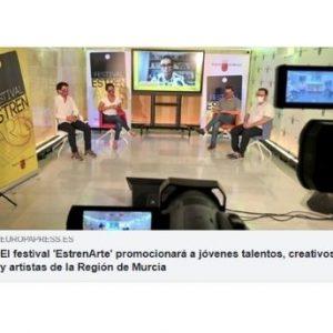B El festival 'EstrenArte' promocionará a jóvenes talentos, creativos y artistas de la Región.